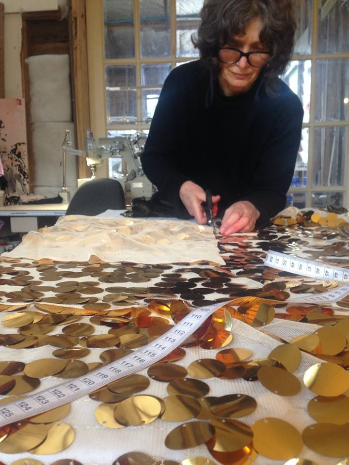 Costume making for WildHoney Jen Farthing