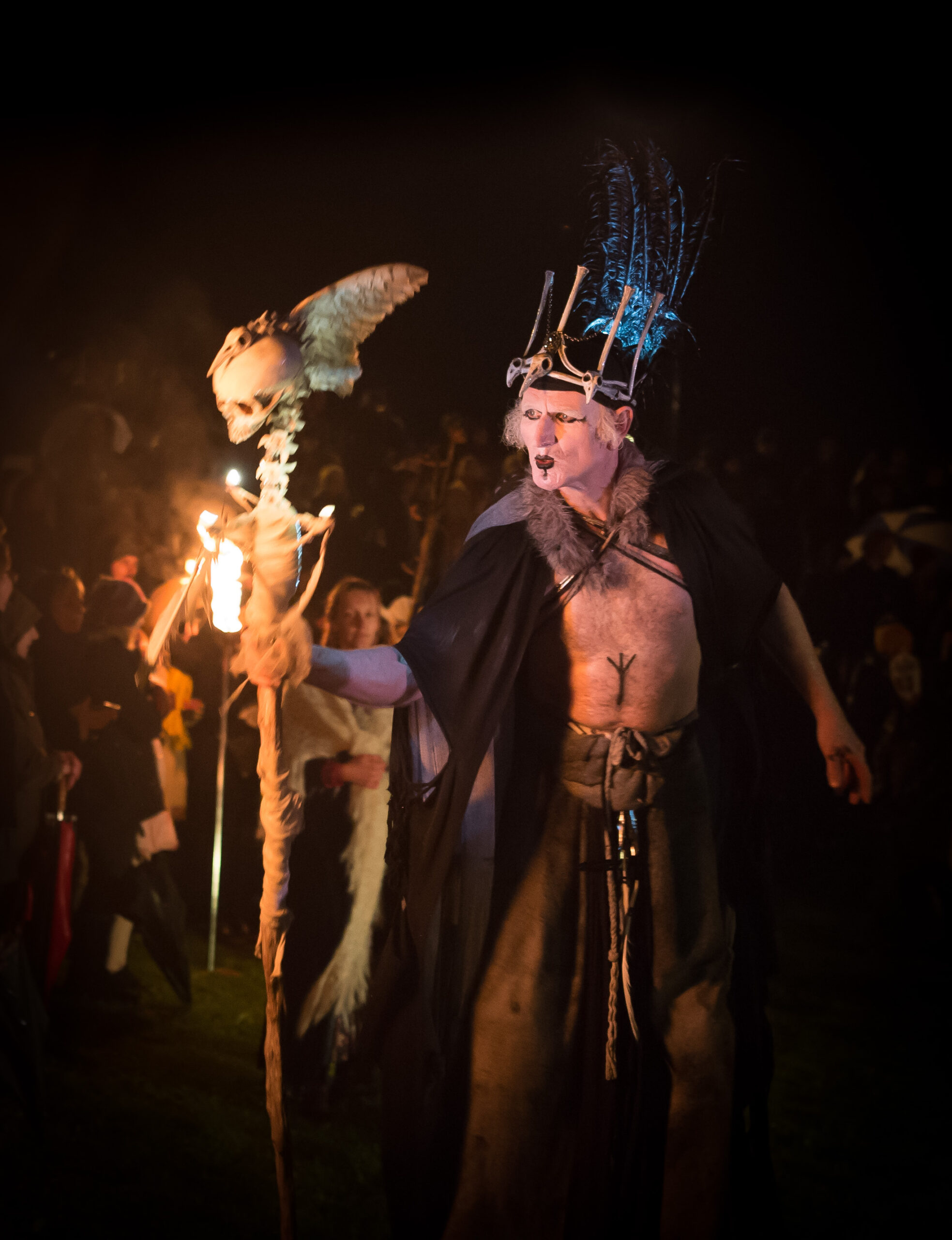 High Priest at WinterWild Festival  Image Credit - Ray Yeo