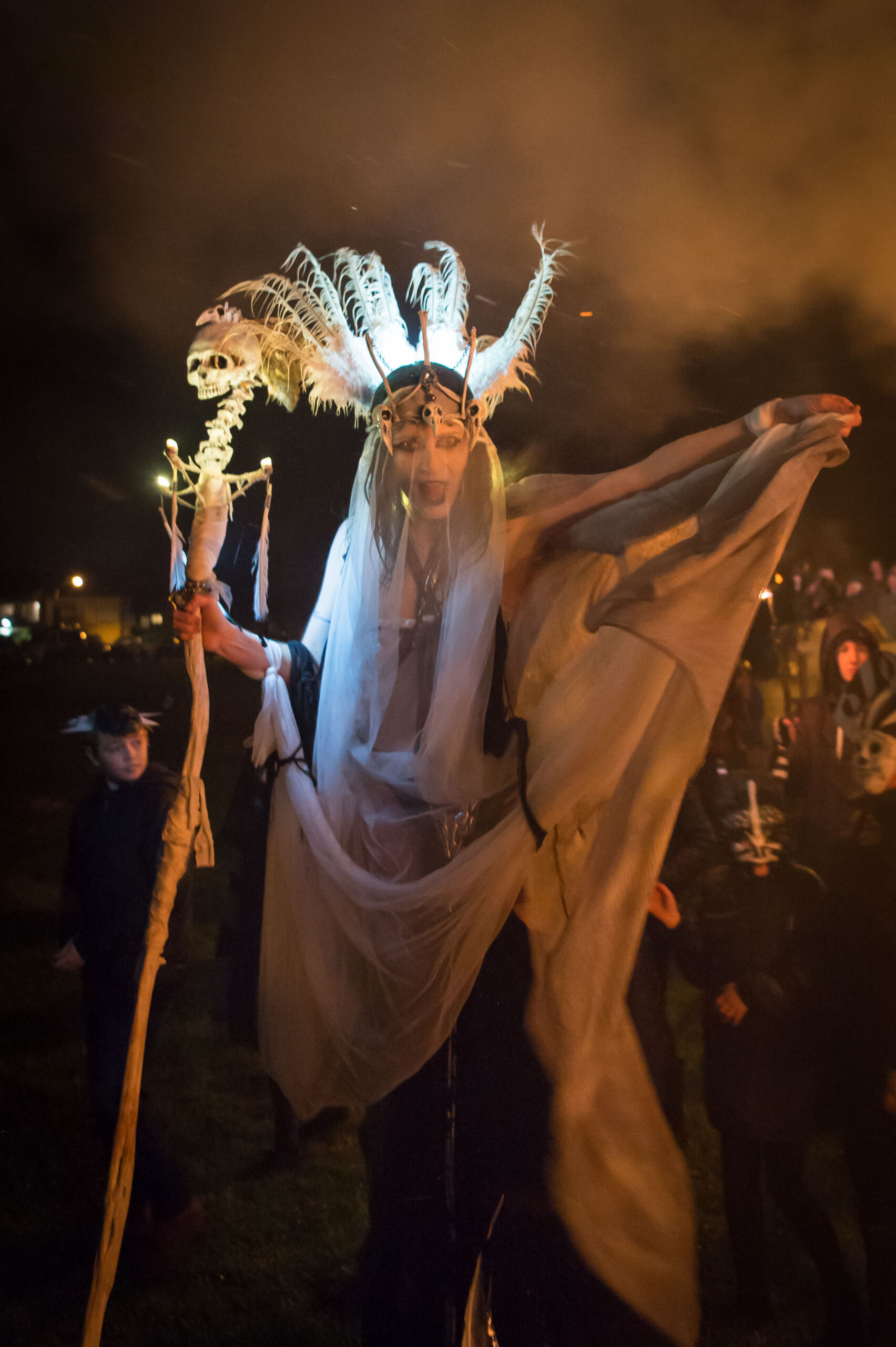 High Priestess at WinterWild Festival  Image Credit - Ray Yeo
