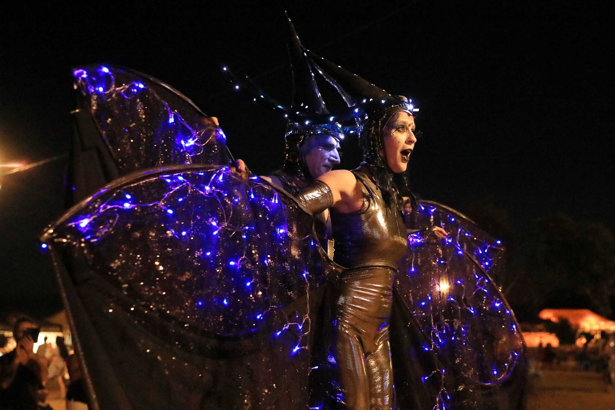 The Elementals at Torquay Nightjar Festival Image Credit - Rebecca Hosking